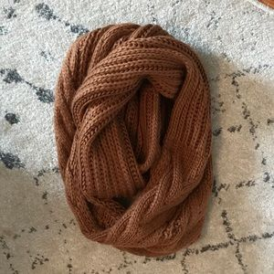 Rustic Knit Scarf